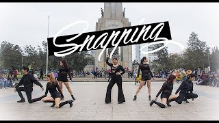 """[KPOP IN PUBLIC CHALLENGE PERU] 청하 (CHUNG HA) - """"Snapping"""" DANCE COVER by A CROWN"""