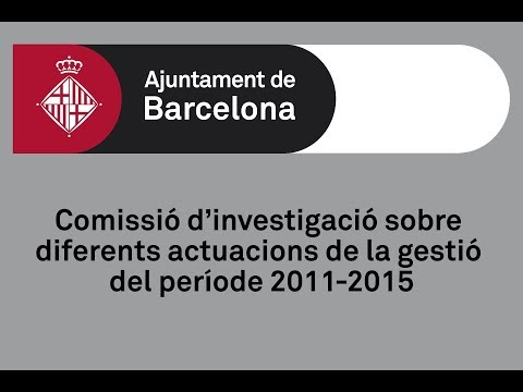 Comissió d'investigació sobre diferents actuacions de la gestió del període 2011-2015 (11/04/2019)