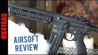 Airsoft HK416A5 New 2019 Review Video