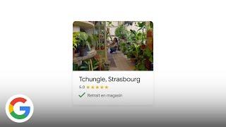 Soutenons les commerçants autour de chez nous avec le retrait en magasin - Google France