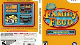Family Feud Decades Nintendo Wii game 2