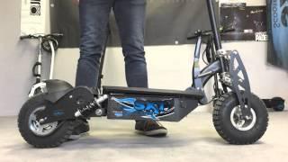Ozflip.com - La SXT 1000 W Turbo, trottinette électrique robuste