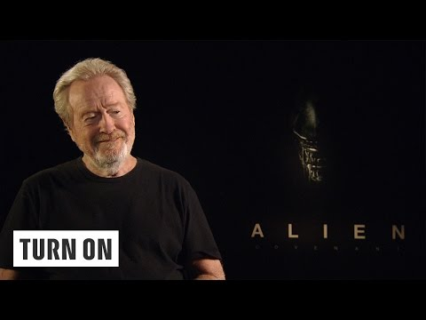 Ridley Scott über Aliens, Gadgets, VR & Co. - TURN ON Interview