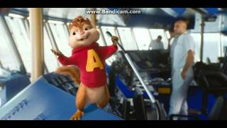 alvin and the chipmunks chipwrecked trouble movie scene