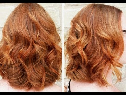 great ideas for copper hair color youtube