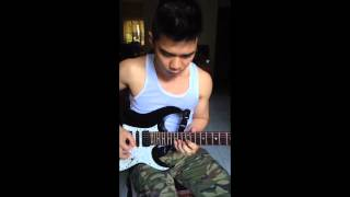 Boy Kulot guitar solo (fast) by Juven Pelingon