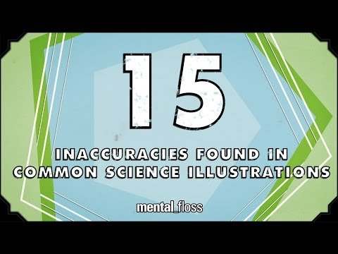 15 Inaccuracies Found In Common Science Illustrations - mental_floss on YouTube (Ep.48)