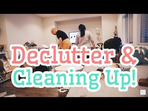 Vlog #151 | JALAN-JALAN, DECLUTTER & BERSIHIN LIVING ROOM! (w/ Cleaning Montages)