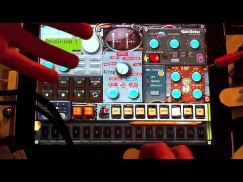 New!  GORILLAZ iELECTRIBE App for iPad!  SAMPLE BASED Remixing Fun - PART A - Intro
