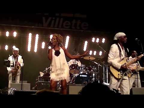 CHIC Live PARIS Jazz Festival 2013 09 10 La Villette
