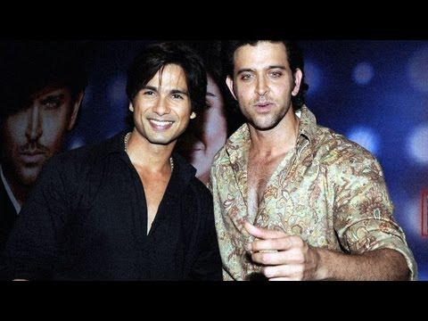 'Hrithik Roshan is a better dancer than me' - Shahid Kapoor