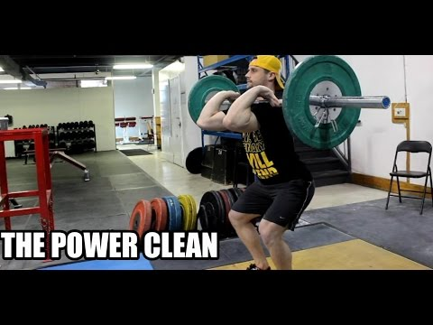 HOW TO POWER CLEAN: For Strength + Size + Athleticism