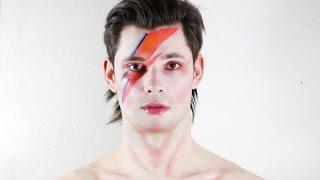 David Bowie Makeup Tutorial - Aladdin Sane