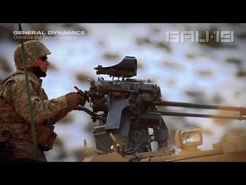 GAU-19/B Lightweight Gatling Gun .50 Caliber