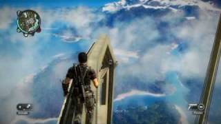 Just Cause 2 Highest Building: Climbing and Jumping