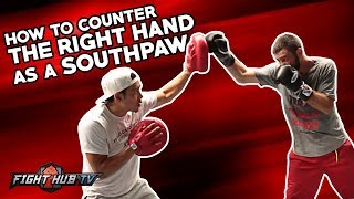 HOW TO COUNTER A STRAIGHT RIGHT IF YOU'RE A SOUTHPAW - CHRIS VAN HEERDEN & JULIAN CHUA