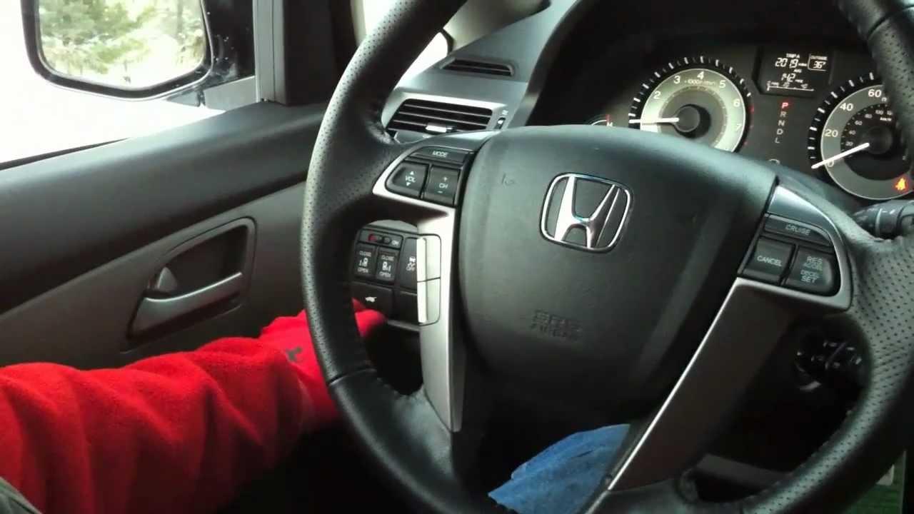 2011 Honda Odyssey Ex L Tour Youtube