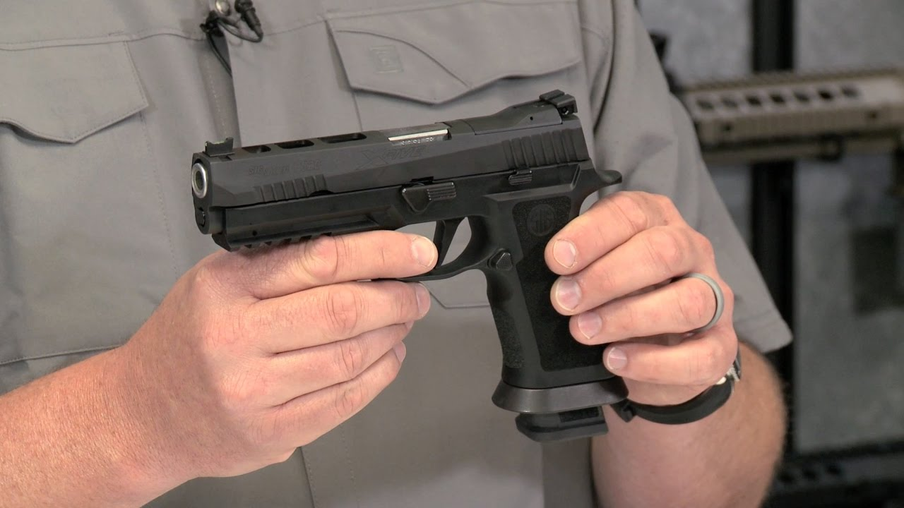 SIG SAUER P320 X-Five Full Size Handgun ~ Gun Review