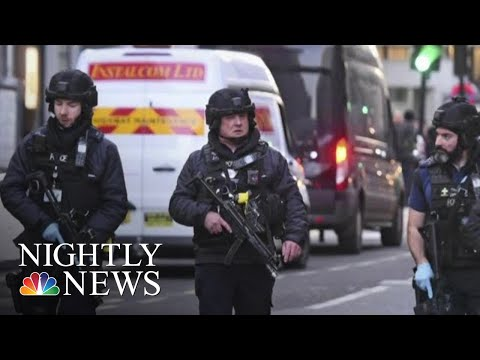 Two Stabbing Attacks Leave Europe On Edge | NBC Nightly News