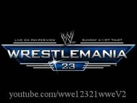 Revelations - WrestleMania 23 All Grown Up theme