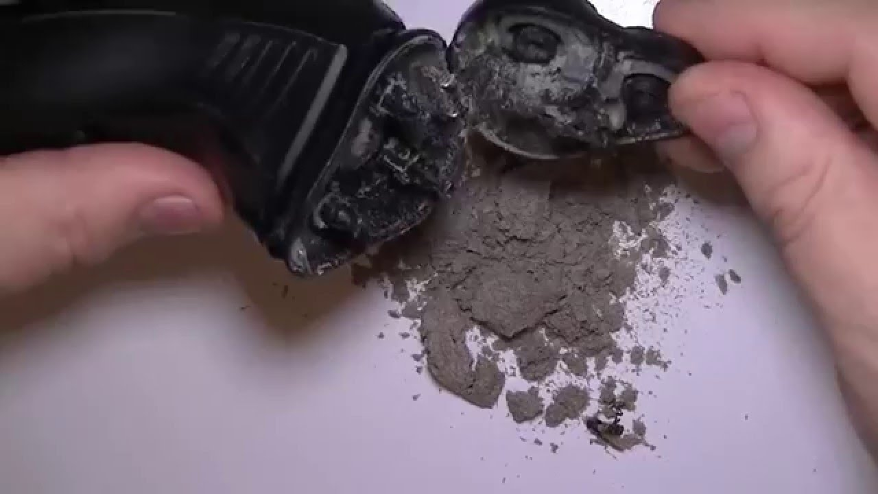 The Best Electric Shaver Cleaning Video YouTube