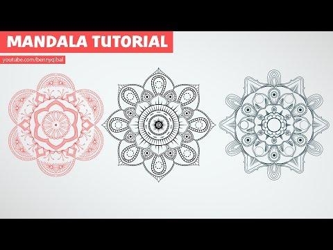 Illustrator Mandala Art Tutorial thumbnail