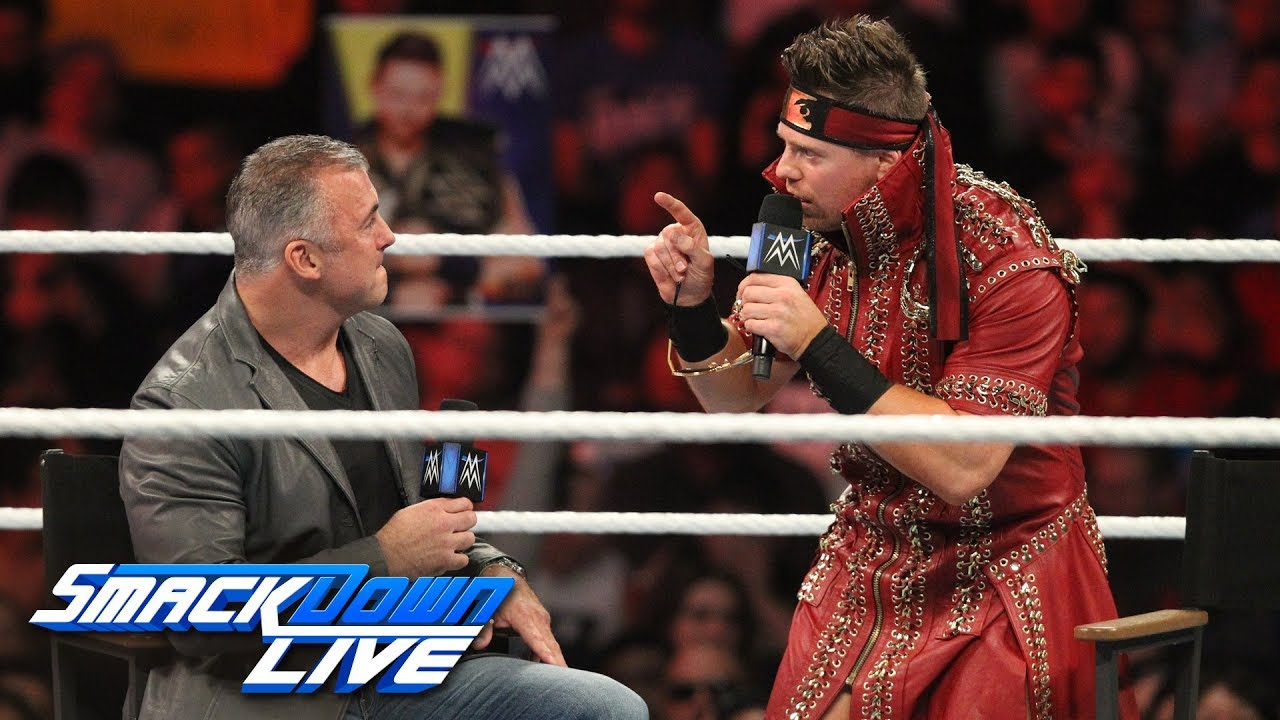Image result for WWE The Miz and Shane McMahon