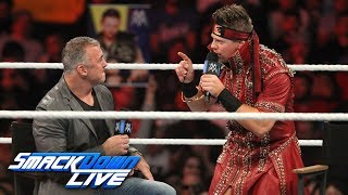 "When Shane McMahon appears on ""Miz TV,"" The A-Lister has a surprisi..."