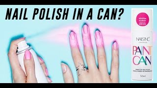 Nail Polish Spray, Does It Work? | TINA TRIES IT