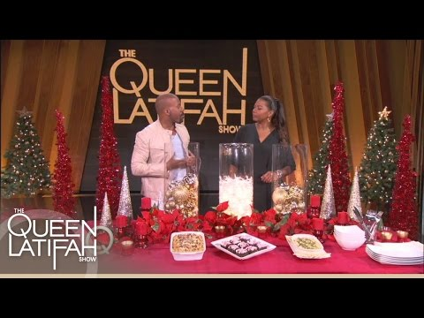 Decorate Your Holiday Table on a Budget  | The Queen Latifah Show