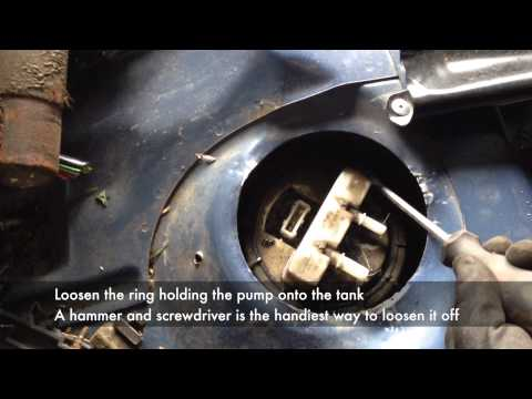 HDi In Tank Fuel Pump Removal