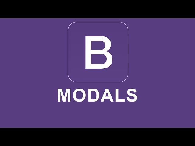 Bootstrap 4 Tutorial 47 - Modals