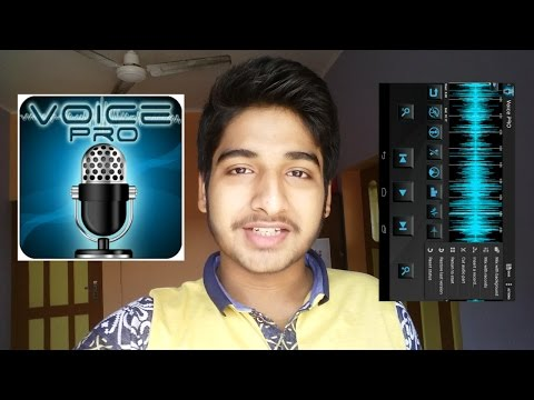 How to make a Karaoke song useing Android /How to remove Vocal from a song useing Android /VoicePRO.