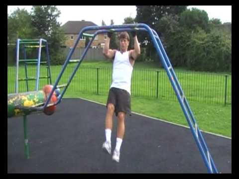 10 Abs Exercises using a Pull Up Bar - Get 6 pack Abs