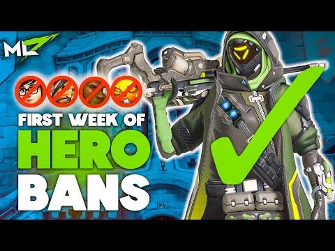 ML7 | FIRST WEEK OF OVERWATCH HERO BANS (SEASON 21)