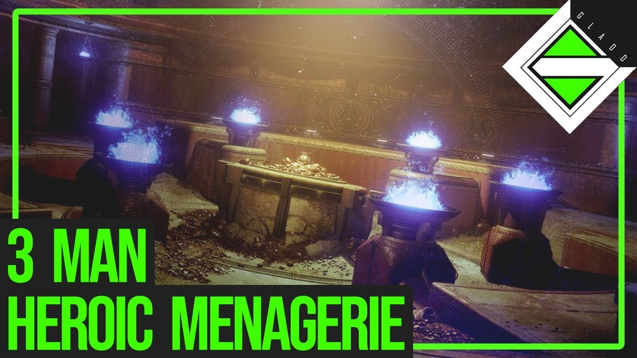 3 Man Heroic Menagerie - Triumph Completed | Destiny 2