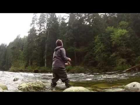 Fishing Capilano River Vancouver