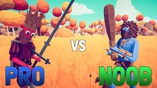 PRO vs NOOB w TABSIE (Totally Accurate Battle Simulator)