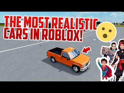 These Roblox Vehicles are Beautiful  