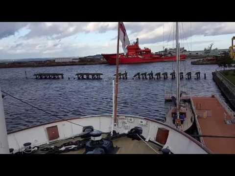 Narrated Guided tour Royal Yacht Britannia docked in Edinburgh