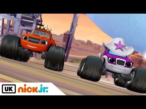 Blaze and the Monster Machines | The Bouncing Bull Racetrack | Nick Jr. UK