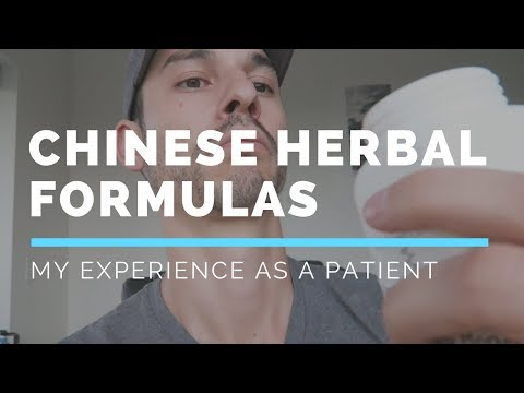 My Experience Taking Chinese Herbal Medicine