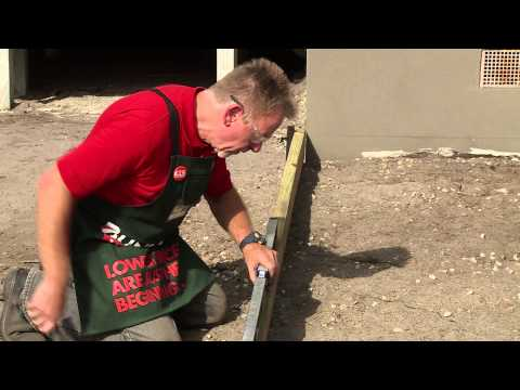 How To Prepare And Lay A Base For Pavers - DIY At Bunnings
