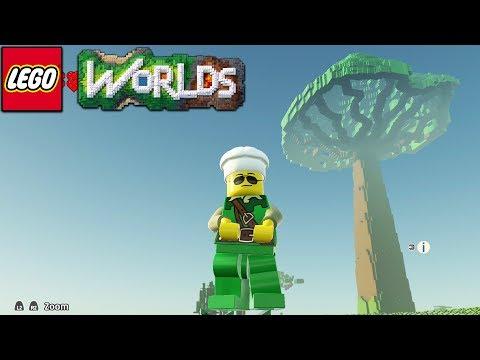 Lego Worlds - Huge Tree! [24]