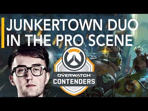 Overwatch   eUnited vs Bazooka Puppiez ft - Kruise Junkertown Pro Debut   Contenders Highlights