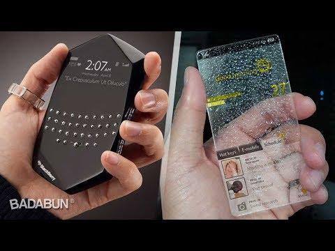 Los 7 celulares más increíbles del mundo
