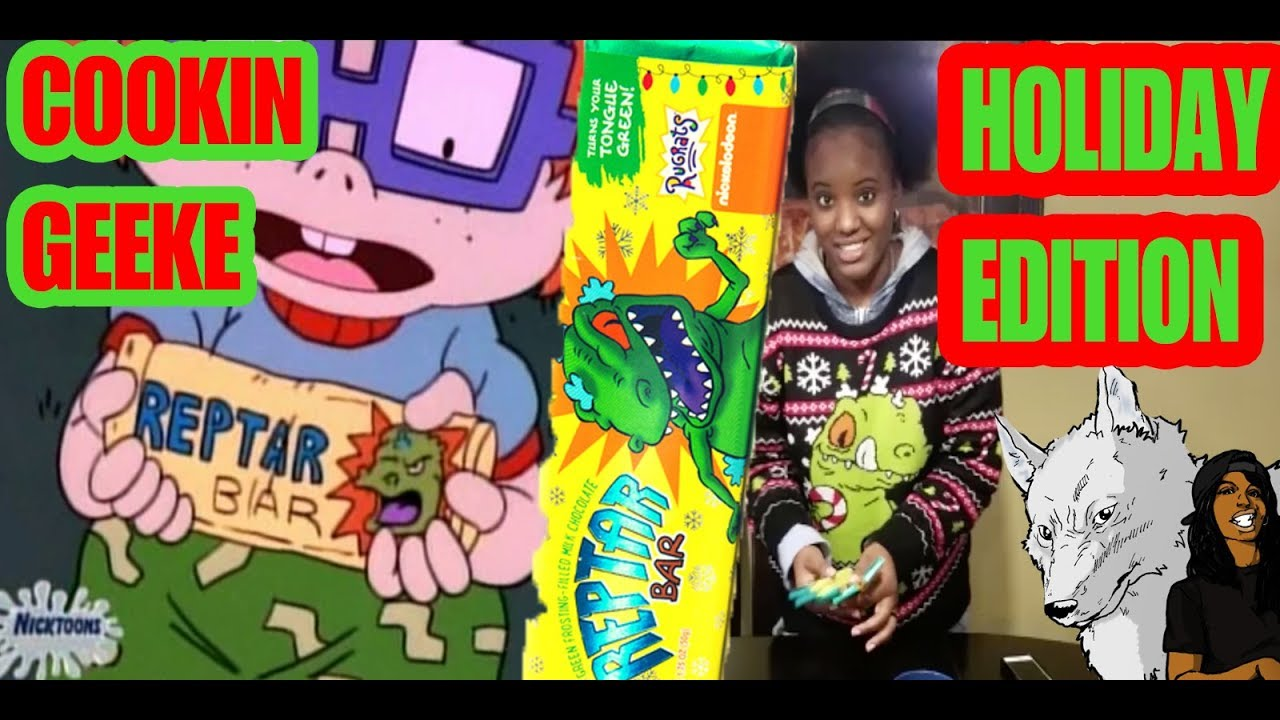 COOKIN GEEKE: REPTAR BARS THICKER THAN CONDENSED MILK [#AGEEKECHRISTMAS EDITION]