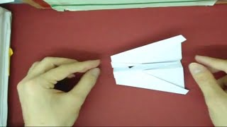 How To Make Origami Elasto-kinetic Jet (sling Shooter) (paper Airplane)