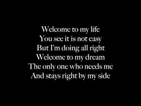 Welcome To My Life - Sunrise Avenue lyrics HD