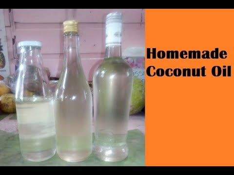 How to make homemade coconut oil with the good old aroma